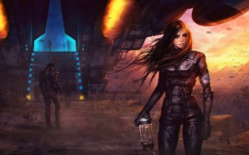 Sci Fi - Women Wallpapers and Backgrounds ID : 219280
