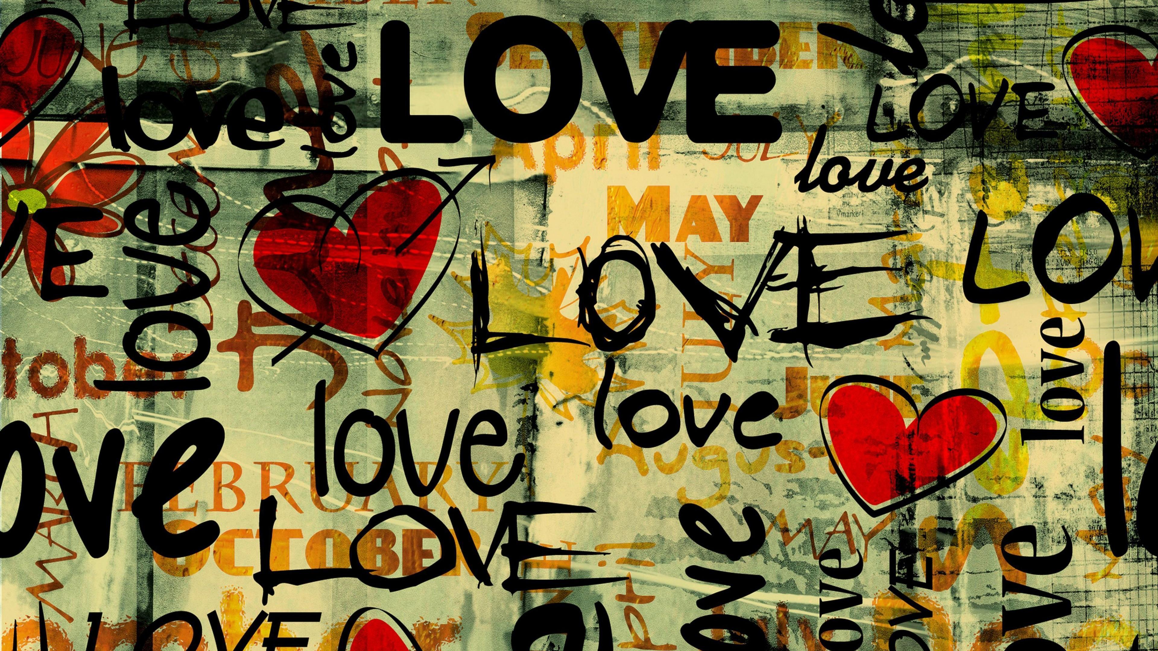 Love 4k Ultra Hd Wallpaper Background Image 3840x2160 Id