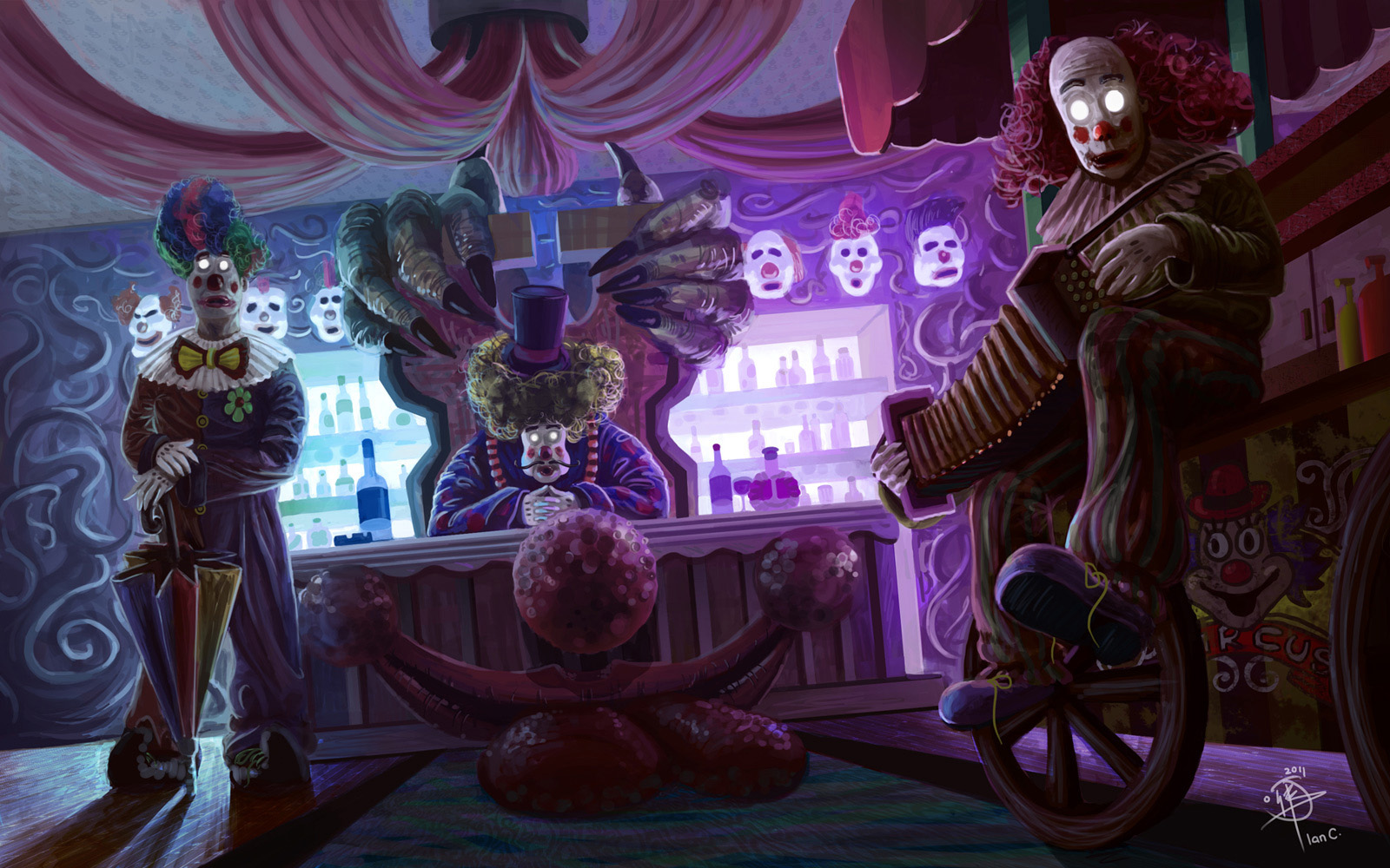 Clown Wallpaper and Background Image | 1600x1000 | ID ...
