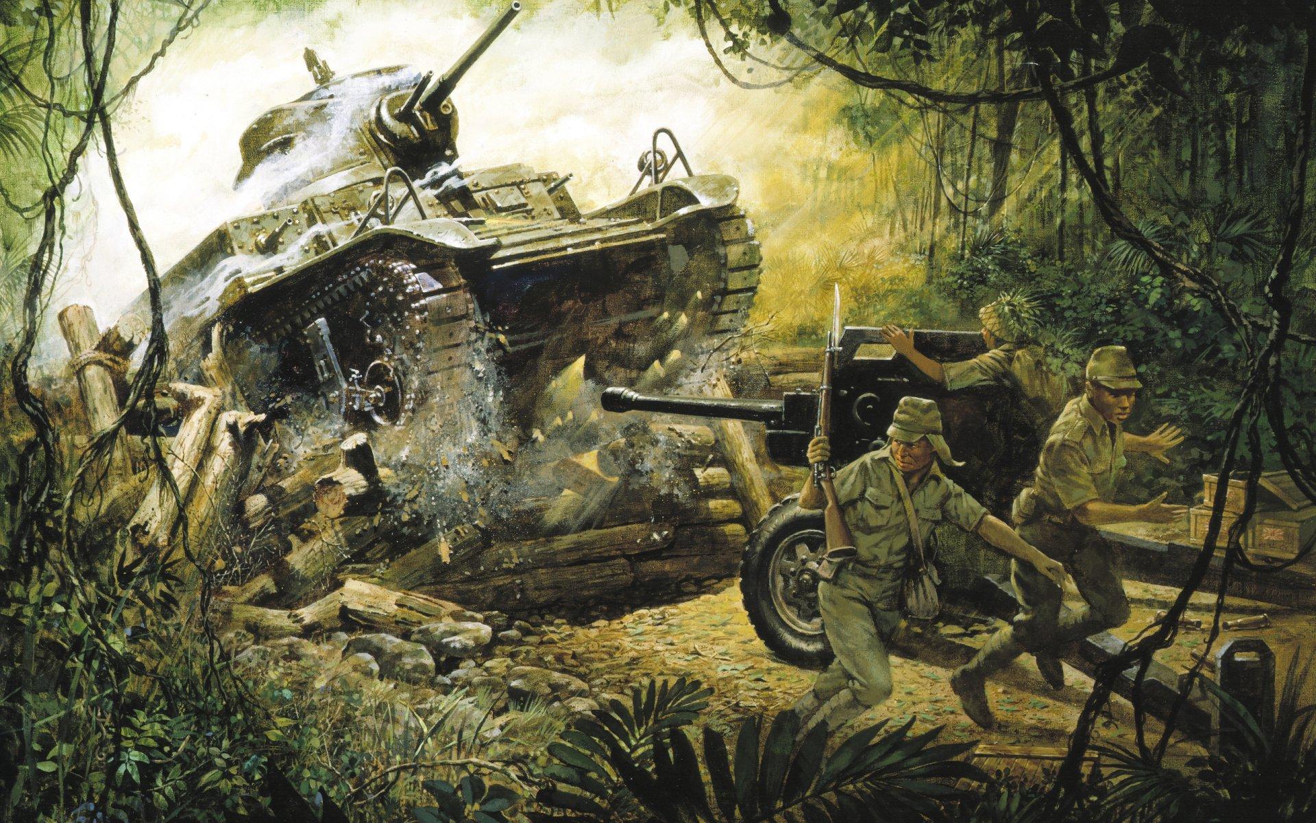 Military - World War II  Wallpaper