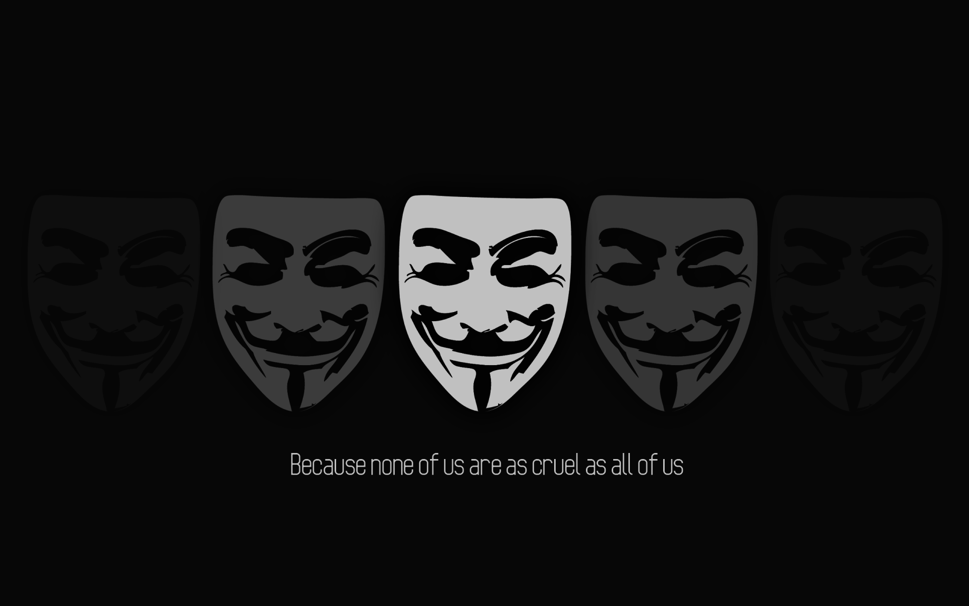 Technology - Anonymous  Wallpaper