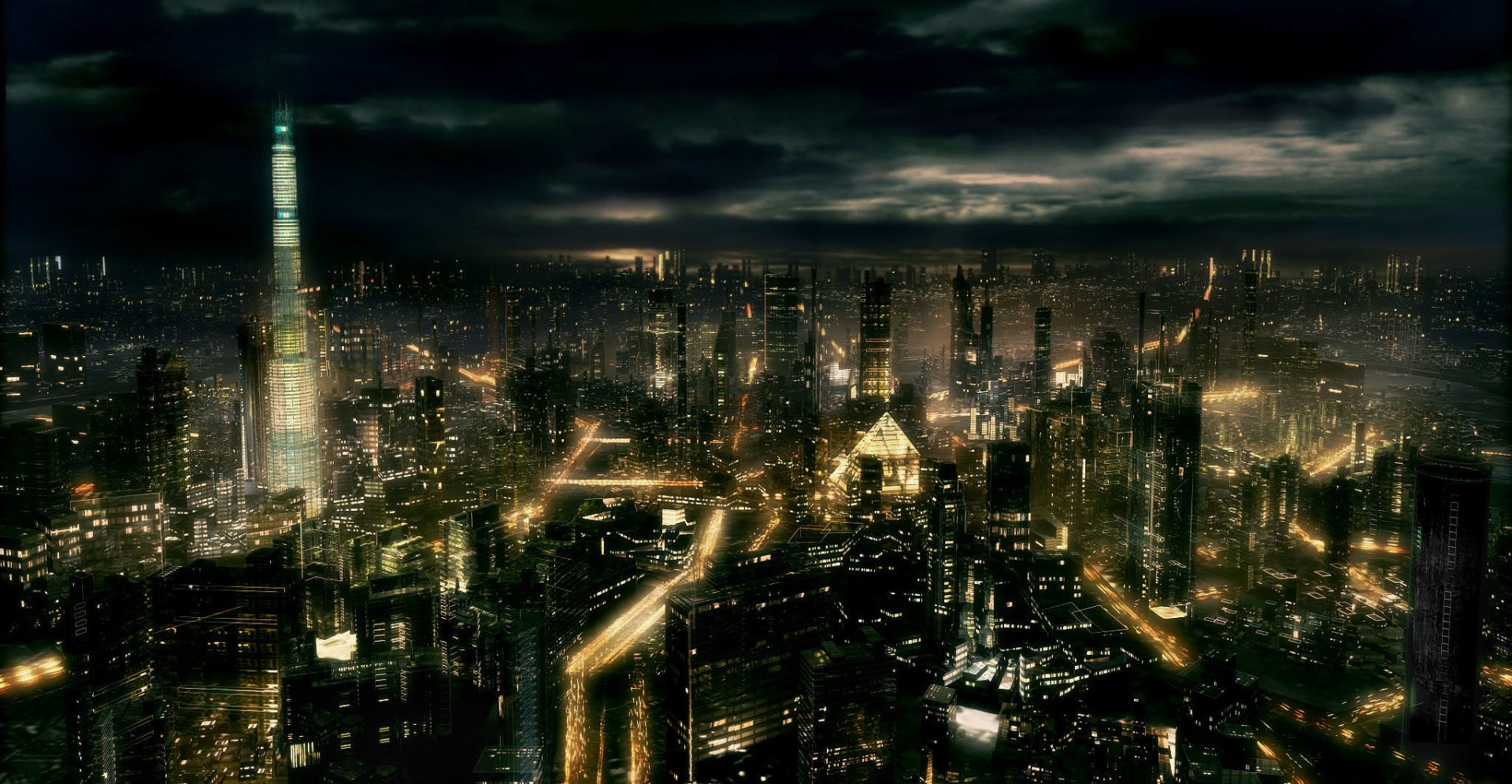 Sci Fi - City  Wallpaper