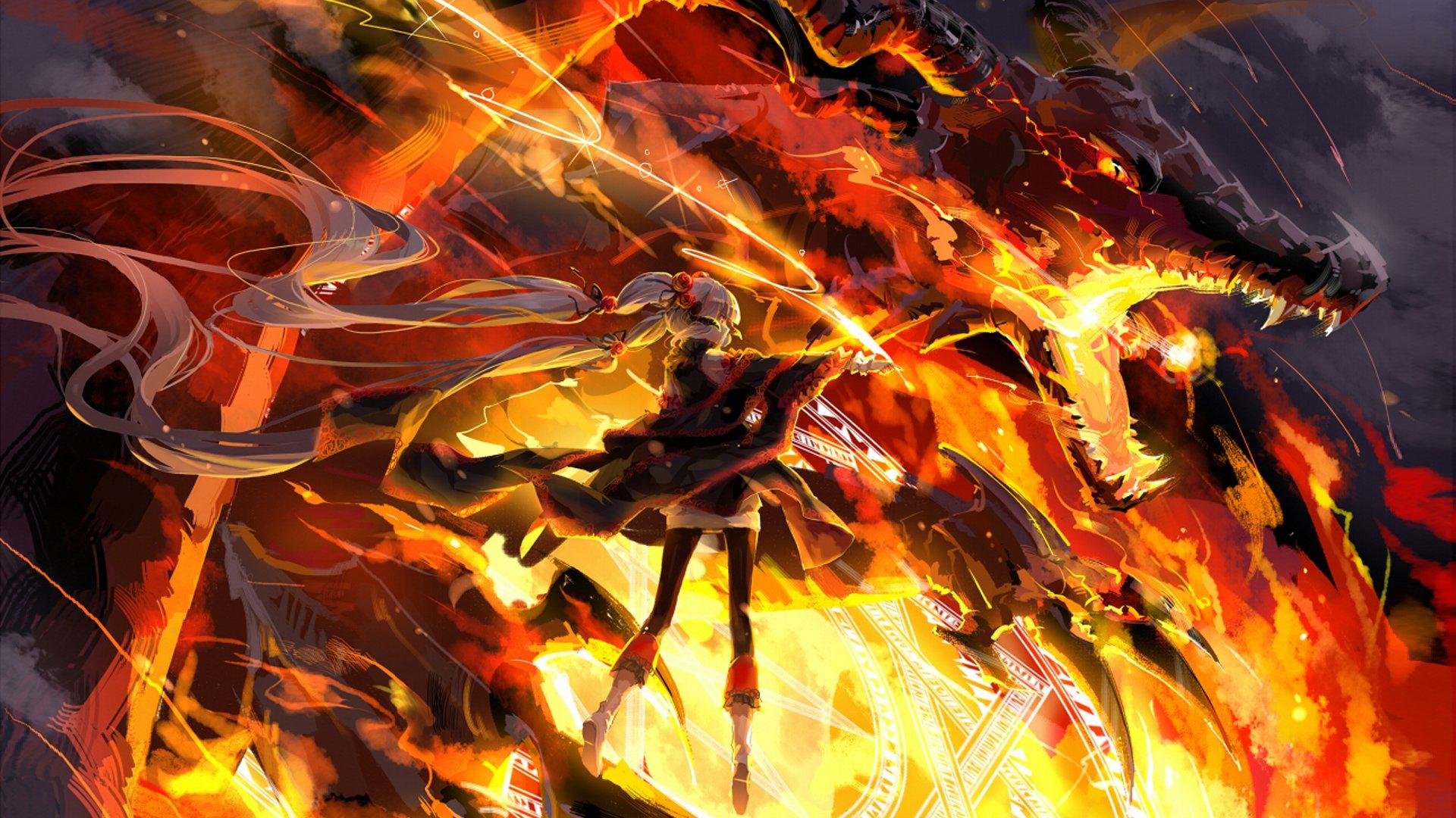 Anime - Unknown  Original (Anime) Warrior Wallpaper