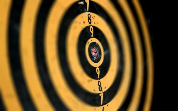 Спортивная мишень для стрельбы обои (фото, картинки) .