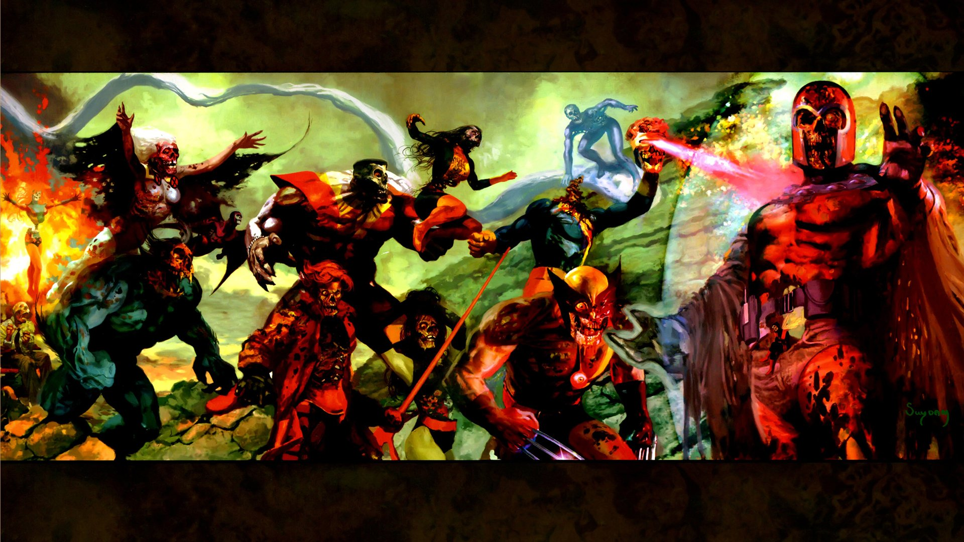 18 Marvel Zombies HD Wallpapers
