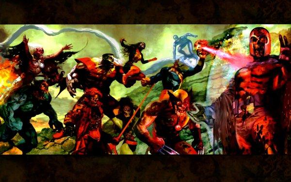 Comics Marvel Zombies Magneto Wolverine Iceman Rogue Cyclops Storm Beast Gambit Jean Grey Charles Xavier Fondo de pantalla HD   Fondo de Escritorio