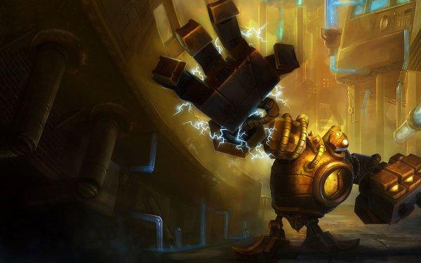 Videojuego League Of Legends Blitzcrank Fondo de pantalla HD | Fondo de Escritorio