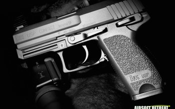 Weapons - Airsoft Pistol Wallpapers and Backgrounds ID : 223422