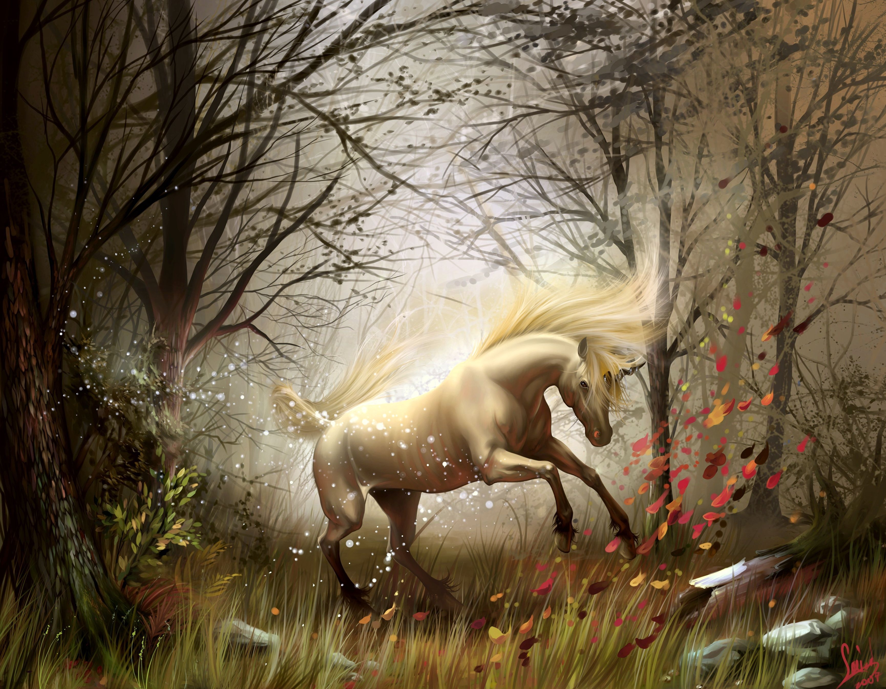 Hd wallpaper unicorn - Hd Wallpaper Background Id 224470 3460x2690 Fantasy Unicorn