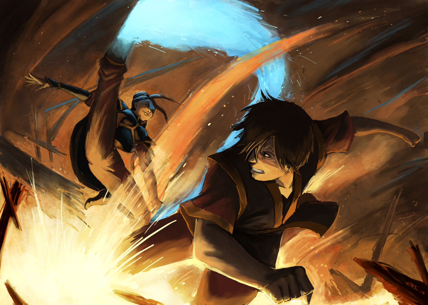 Avatar: The Last Airbender Wallpaper and Background Image ...