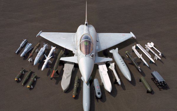 Military Eurofighter Typhoon Jet Fighters HD Wallpaper | Background Image