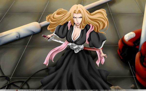 Anime Bleach Rangiku Matsumoto HD Wallpaper   Background Image