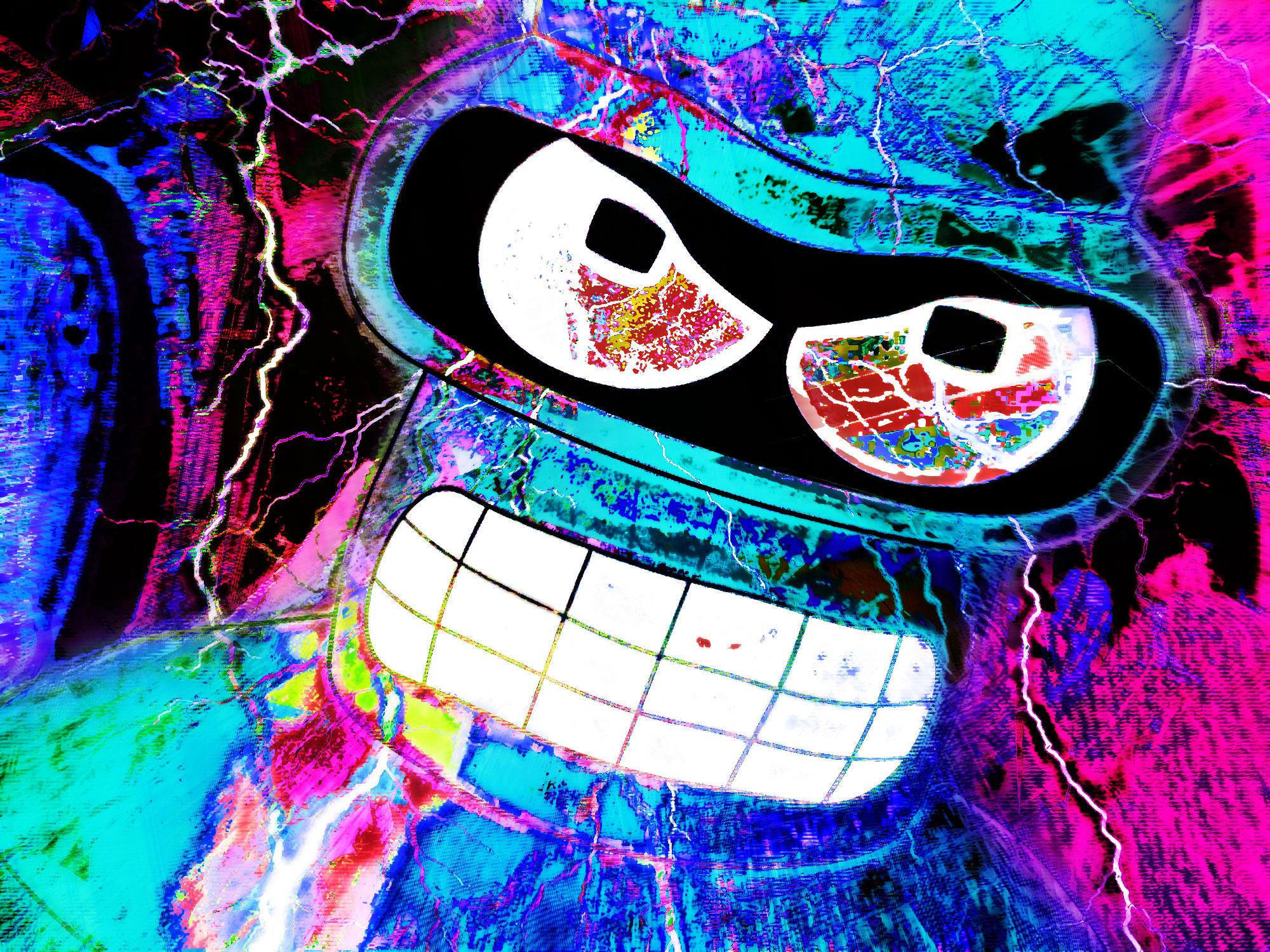 105 Bender (Futurama) HD Wallpapers