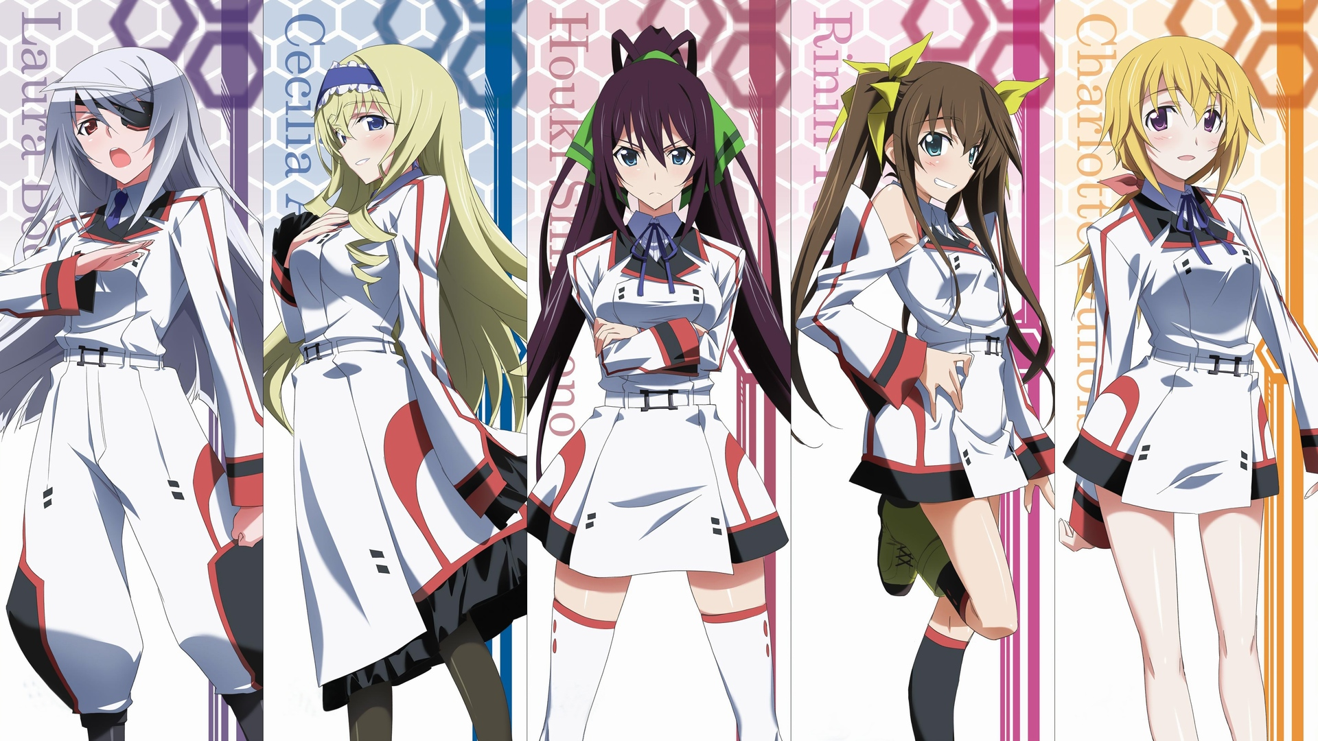 infinite stratos full hd wallpaper and background