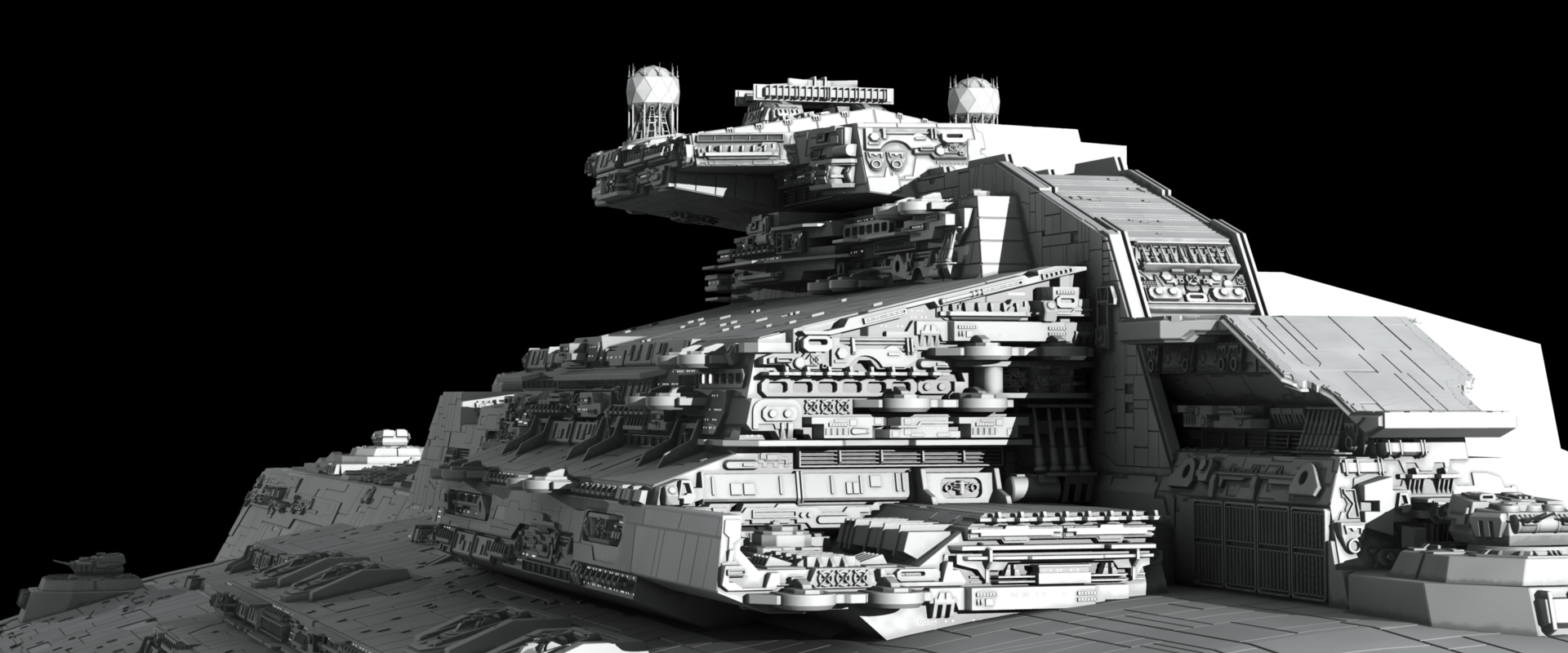 Sci Fi - Star Wars  Star Destroyer Wallpaper