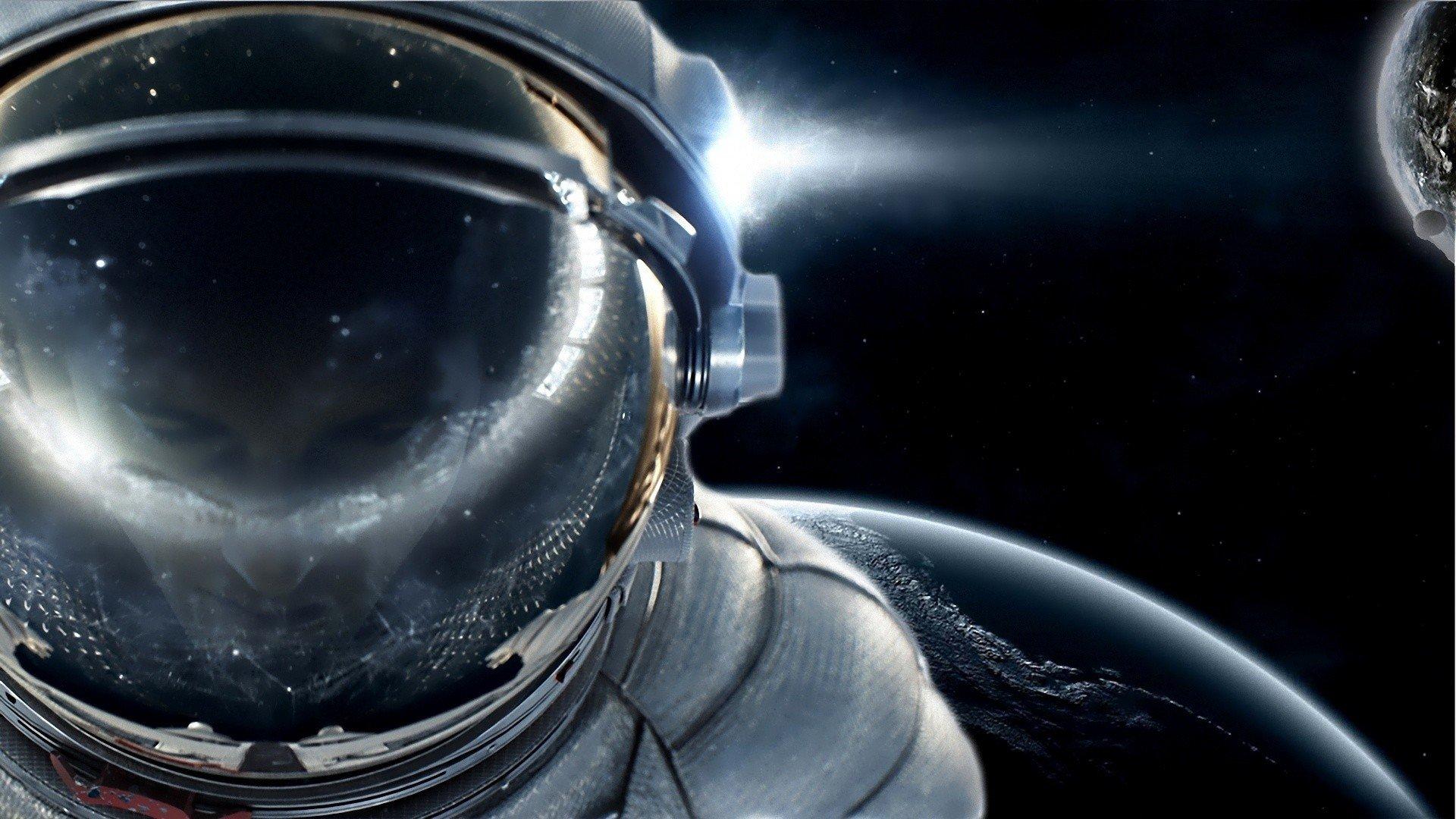 Sci Fi - Astronaut  Wallpaper