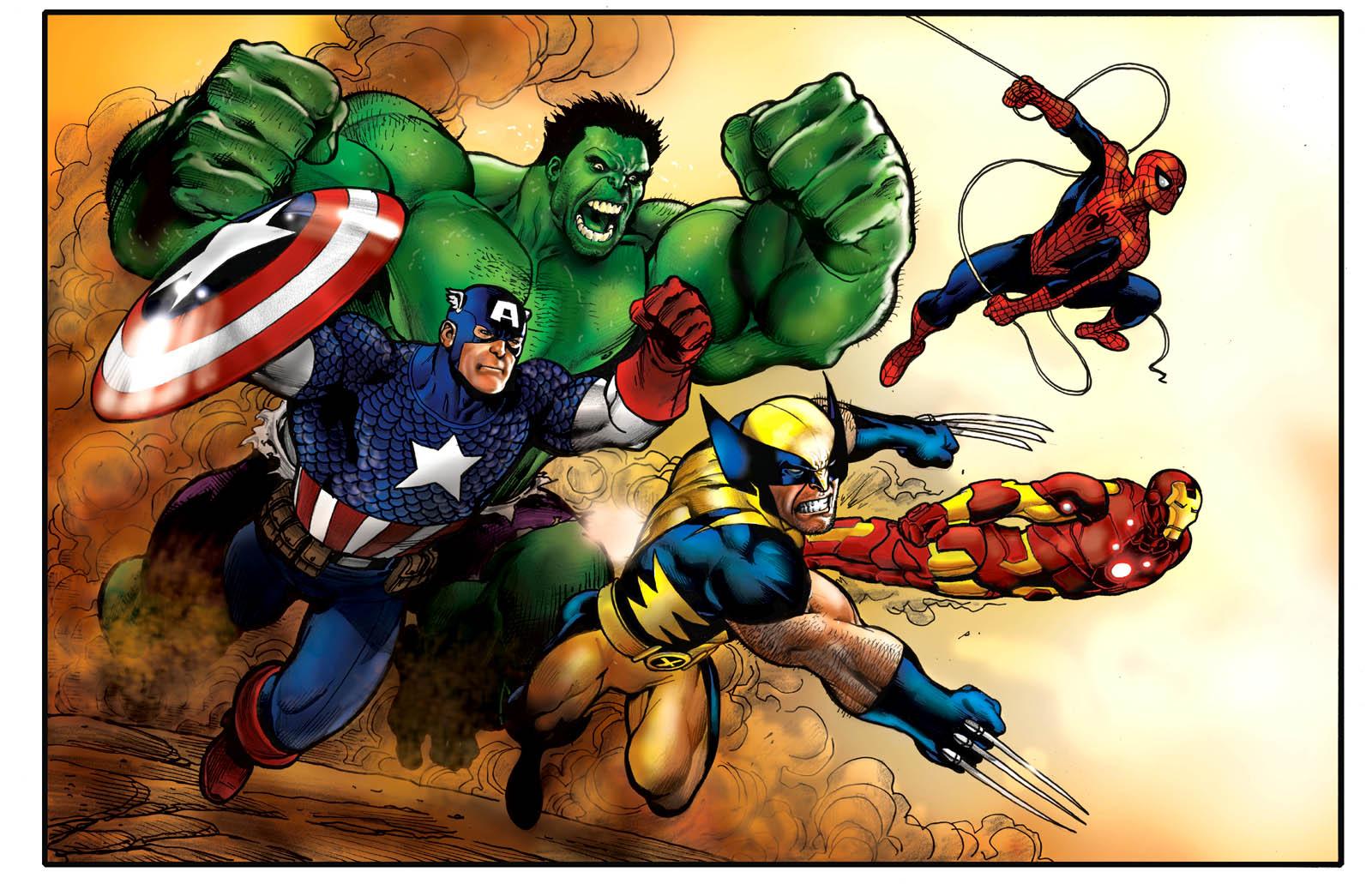 marvel comics wallpaper spider - photo #20