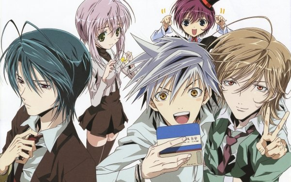 Anime Zombie-Loan Chika Akatsuki Shito Tachibana Michiru Kita Yuuta Reiichirou Shiba HD Wallpaper | Background Image