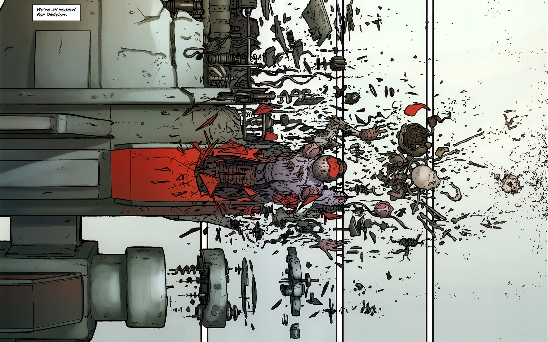Comics - The Red Wing  Wallpaper