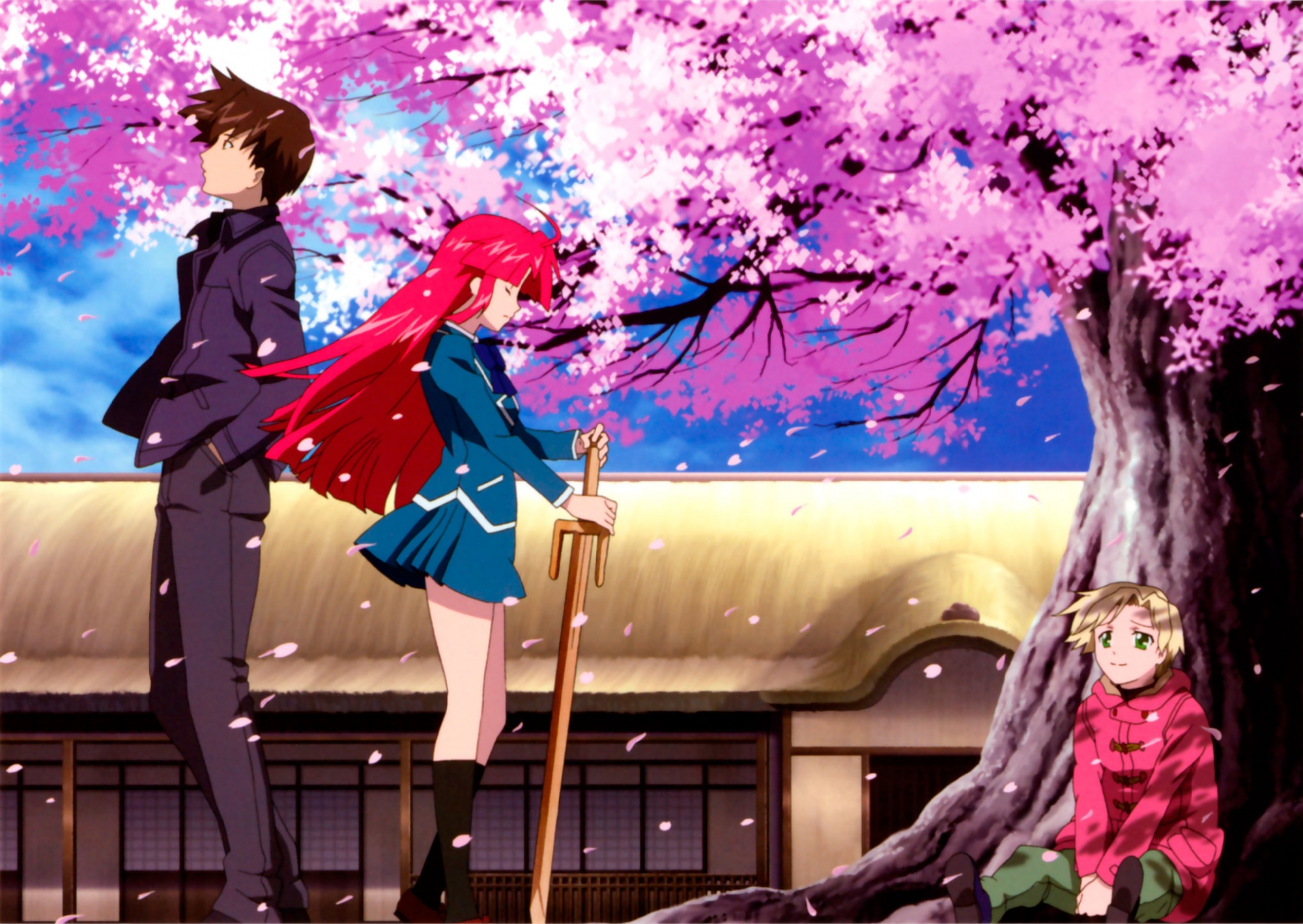 11 Kaze No Stigma HD Wallpapers Backgrounds - Wallpaper Abyss