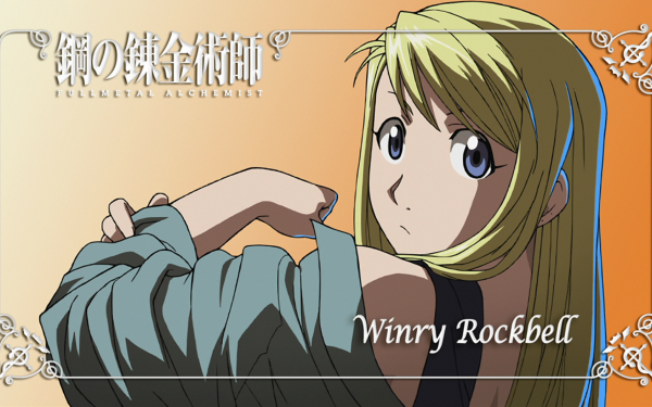 Anime FullMetal Alchemist Fullmetal Alchemist Winry Rockbell HD Wallpaper   Background Image