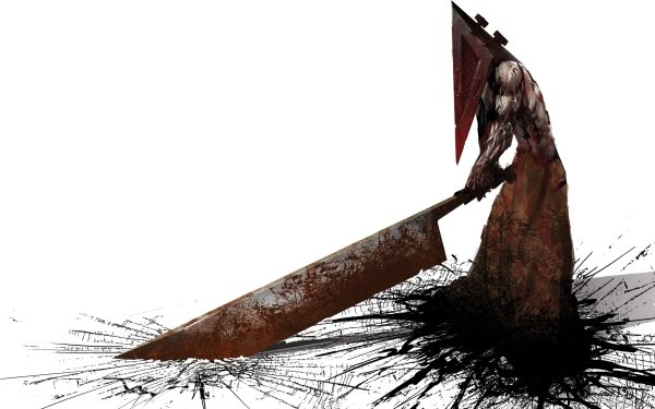 Video Game Silent Hill Blood Pyramid Head HD Wallpaper | Background Image