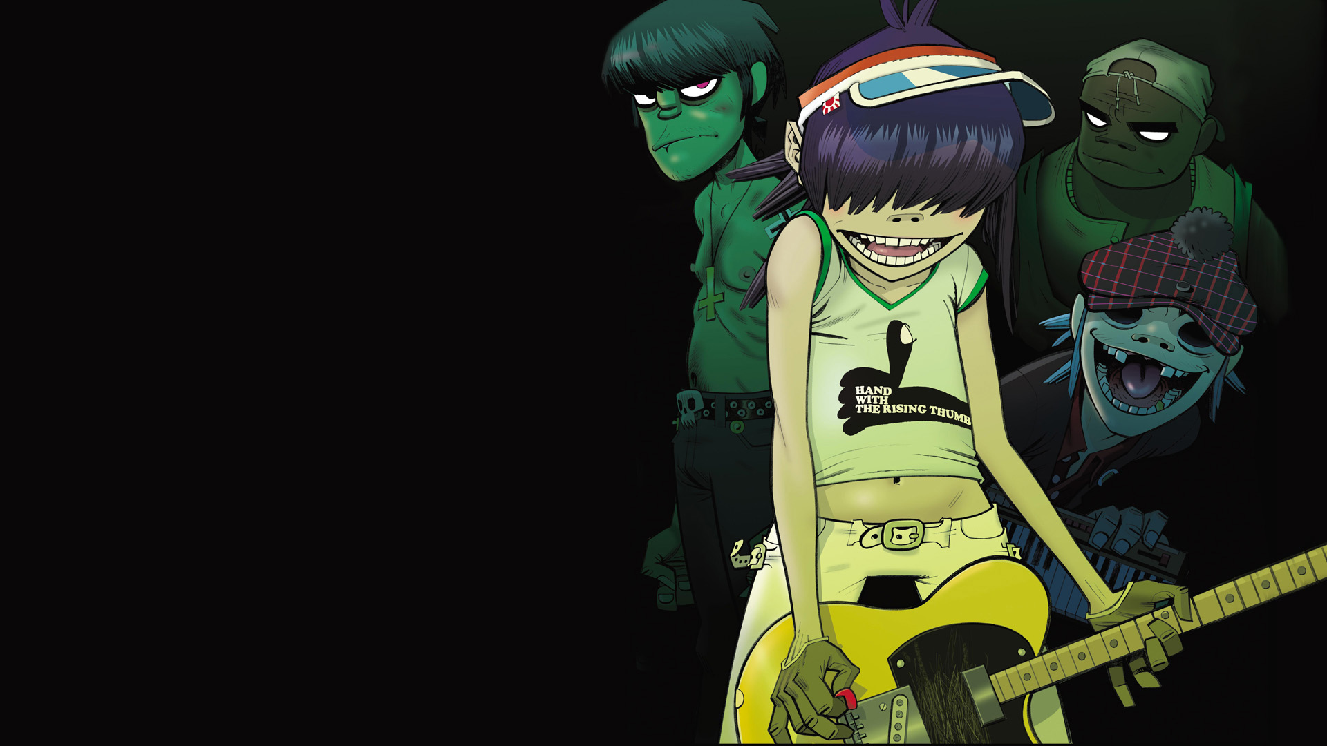Gorillaz Full HD Wallpaper and Background Image ...