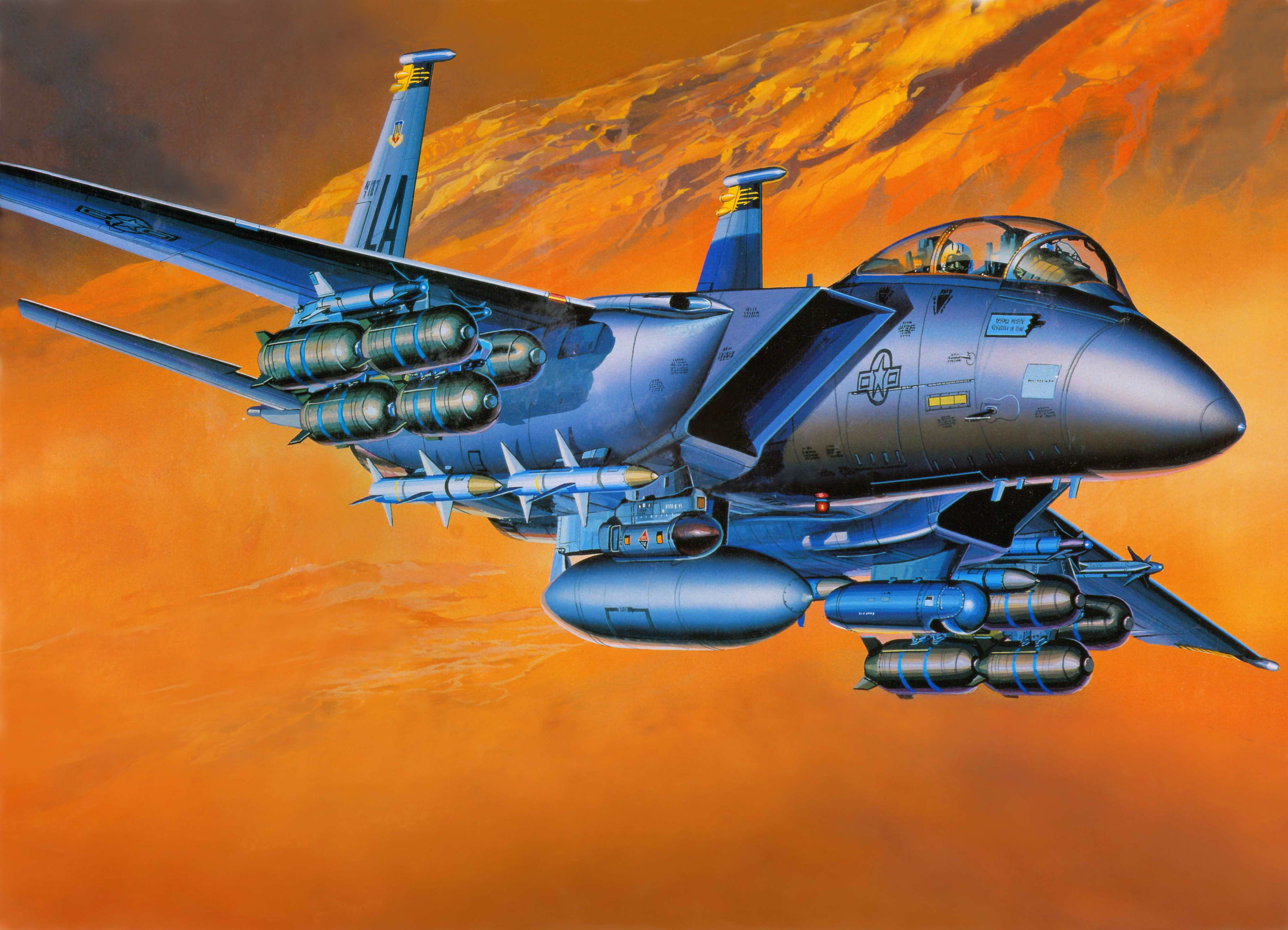 McDonnell Douglas F-15E Strike Eagle 4k Ultra HD Wallpaper ...