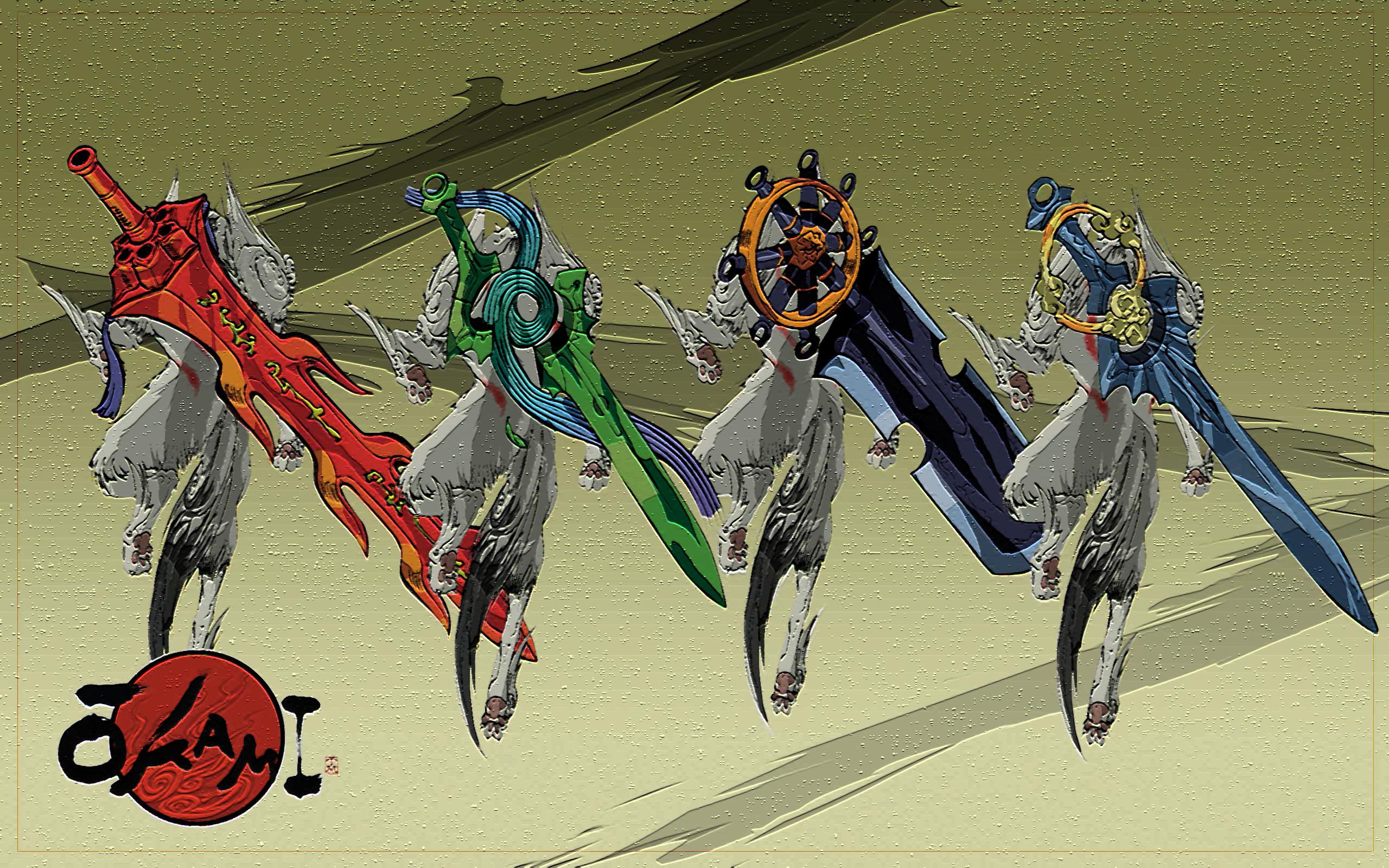 Okami Computer Wallpapers, Desktop Backgrounds 2560x1600 Id: 234880