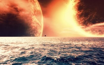 Sci Fi - Planet Rise Wallpapers and Backgrounds ID : 234442