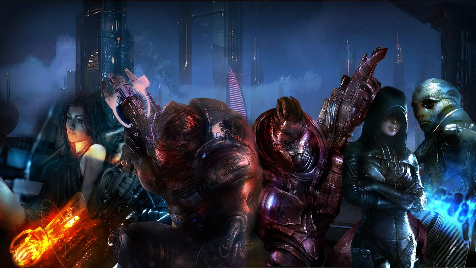 Mass Effect 3 Hd Wallpaper Background Image 1920x1080 Id
