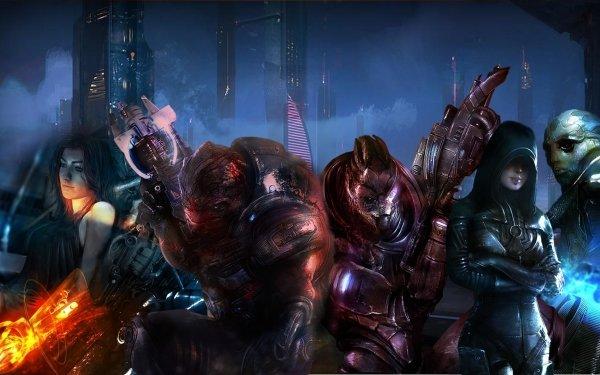 Video Game Mass Effect 3 Mass Effect Miranda Lawson Grunt Garrus Vakarian Kasumi Goto Thane Krios HD Wallpaper | Background Image