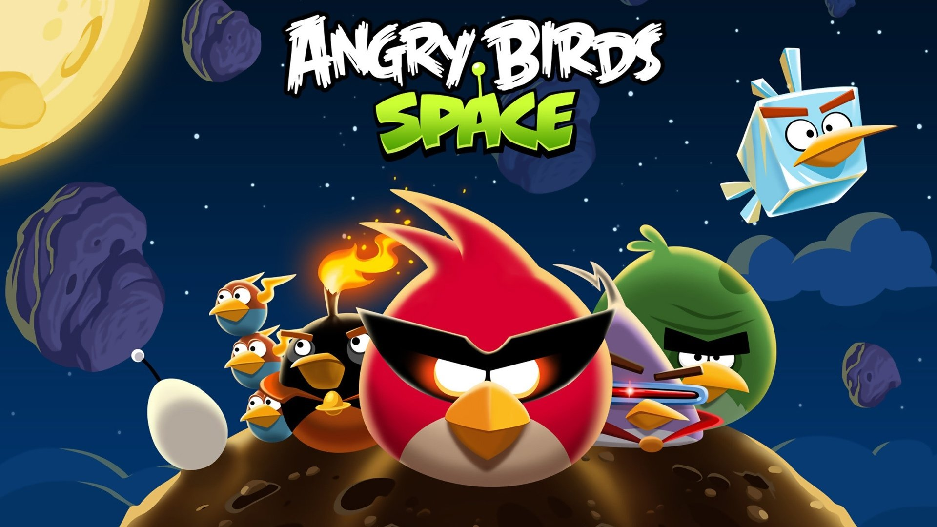 18 Angry Birds Space HD Wallpapers