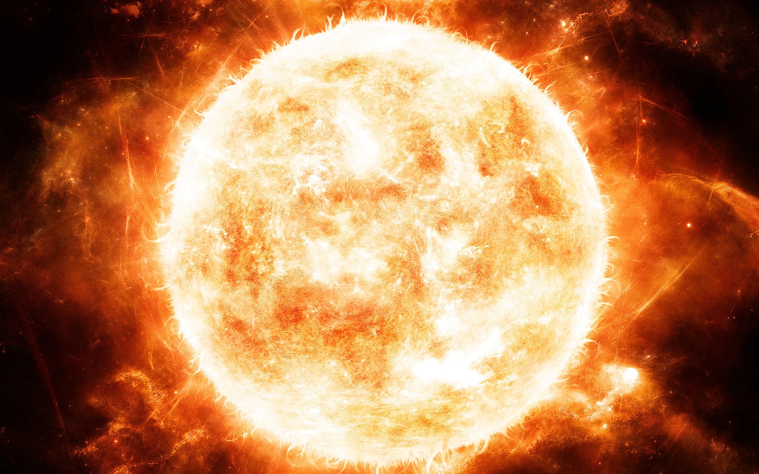 Red Full Moon Wallpaper Sonne Full HD Wallpape...