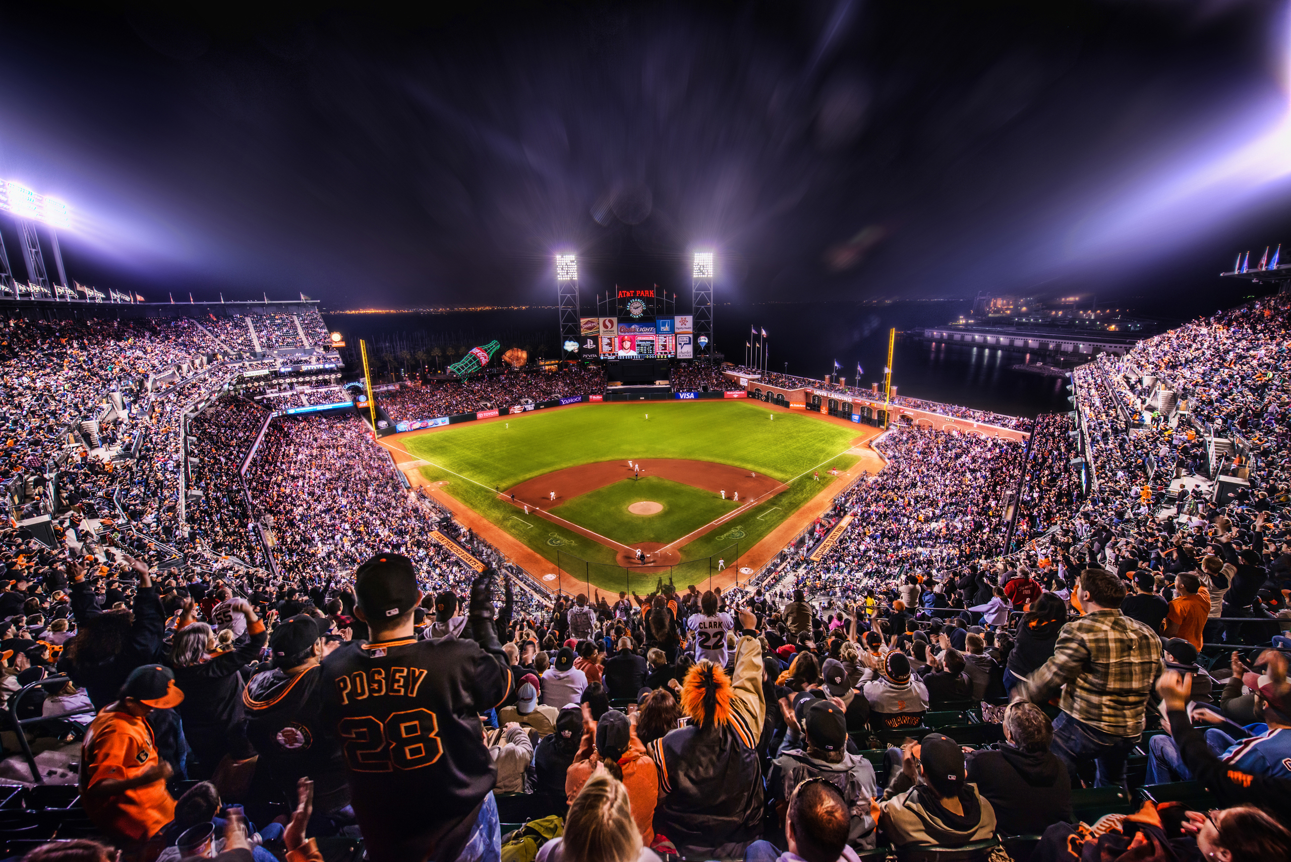 San Francisco Giants Stadium Wallpaper: 5 San Francisco Giants HD Wallpapers