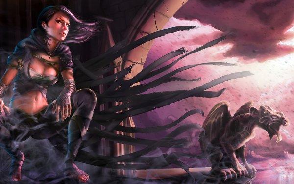 Fantaisie Mistborn Gargoyle Fond d'écran HD | Arrière-Plan