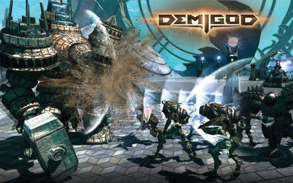 Video Game Demigod HD Wallpaper   Background Image