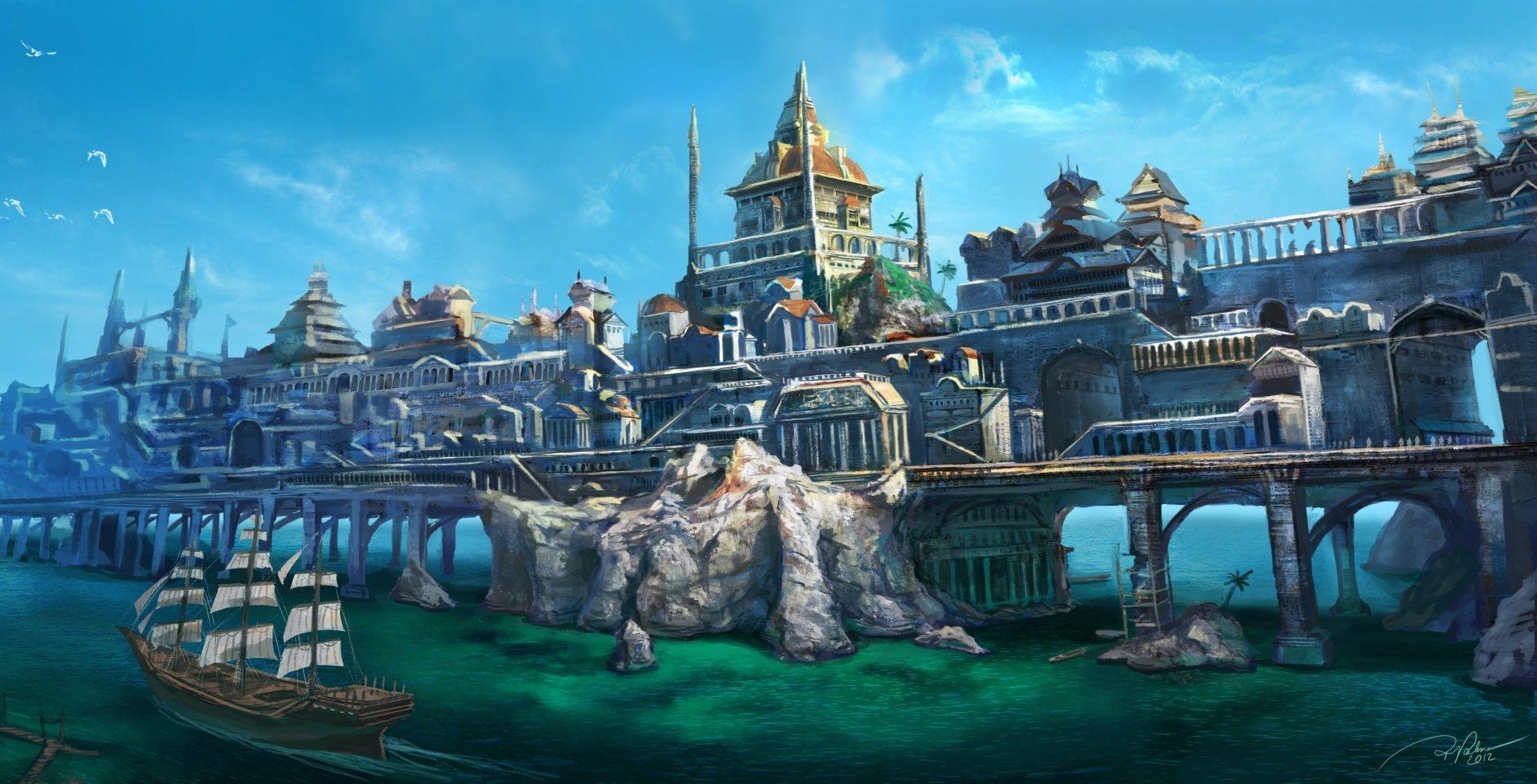 Fantasy - City  Wallpaper