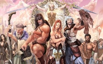 Fantasy - Conan The Barbarian Wallpapers and Backgrounds ID : 242370