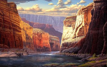 Earth - Canyon Wallpapers and Backgrounds ID : 242892