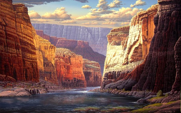 Earth Canyon Canyons HD Wallpaper | Background Image