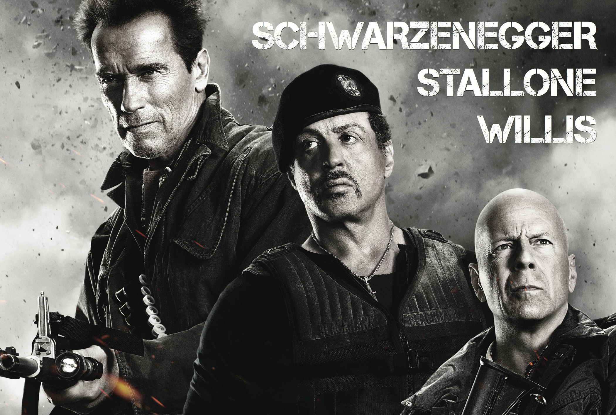 Sylvester Stallone In Expendables 2 Wallpapers: The Expendables 2 Full HD Wallpaper And Background Image