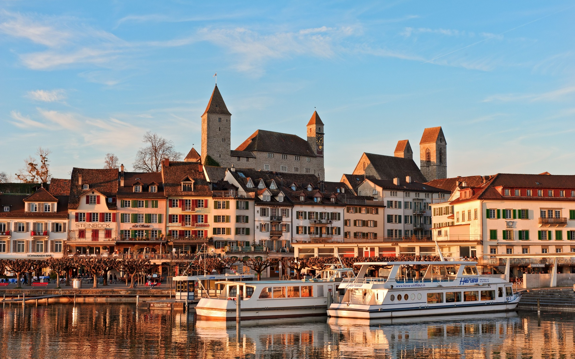 Rapperswil,switzerland Full HD Wallpaper And Background