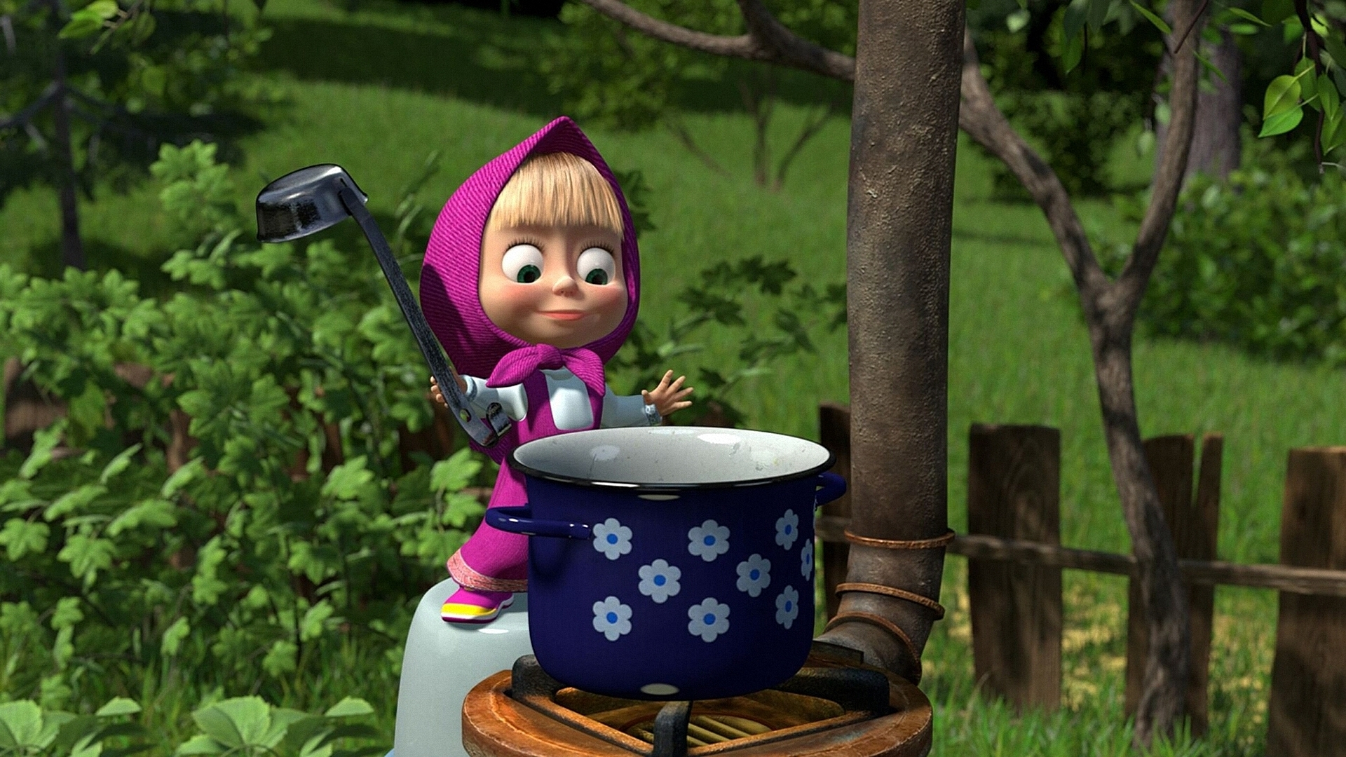 Masha And The Bear Computer Wallpapers, Desktop Backgrounds