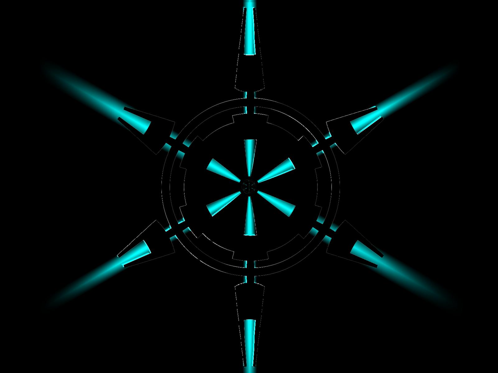imperial crest hex beam computer wallpapers desktop