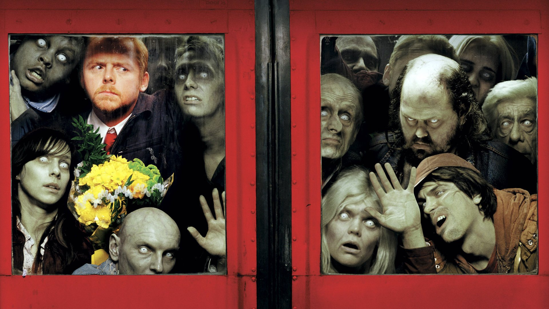 Movie - Shaun Of The Dead  Zombie Wallpaper