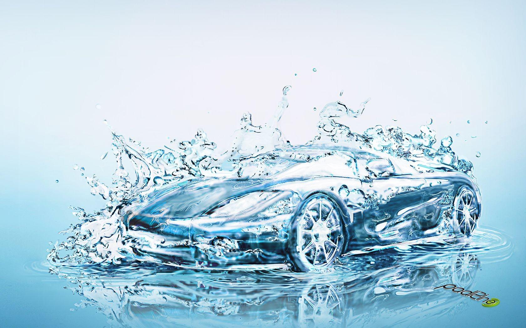 Water car wallpaper and background image 1680x1050 id - Aquatic wallpaper ...