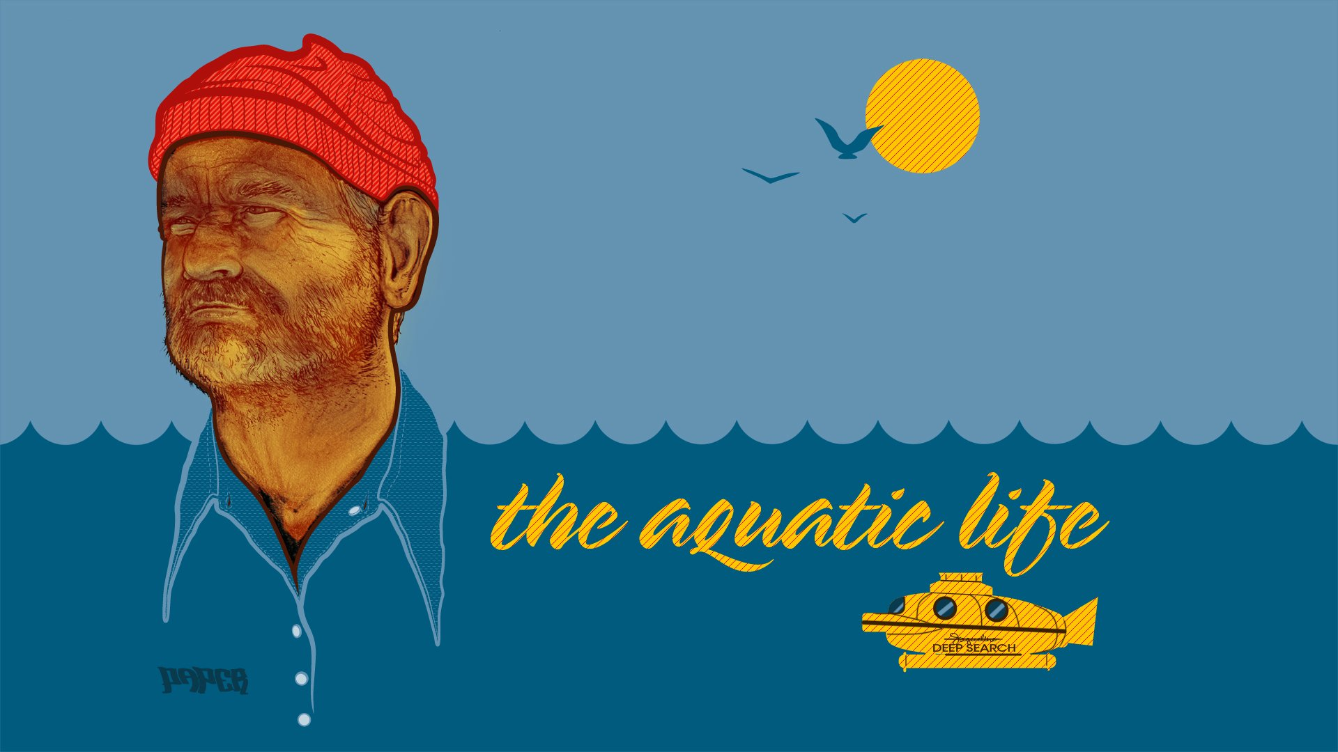 the life aquatic with steve zissou hd wallpaper background image