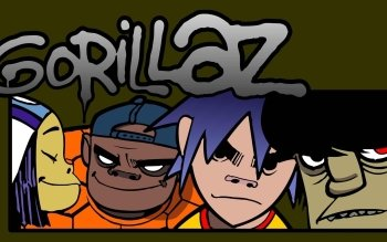 Music - Gorillaz Wallpapers and Backgrounds ID : 247592