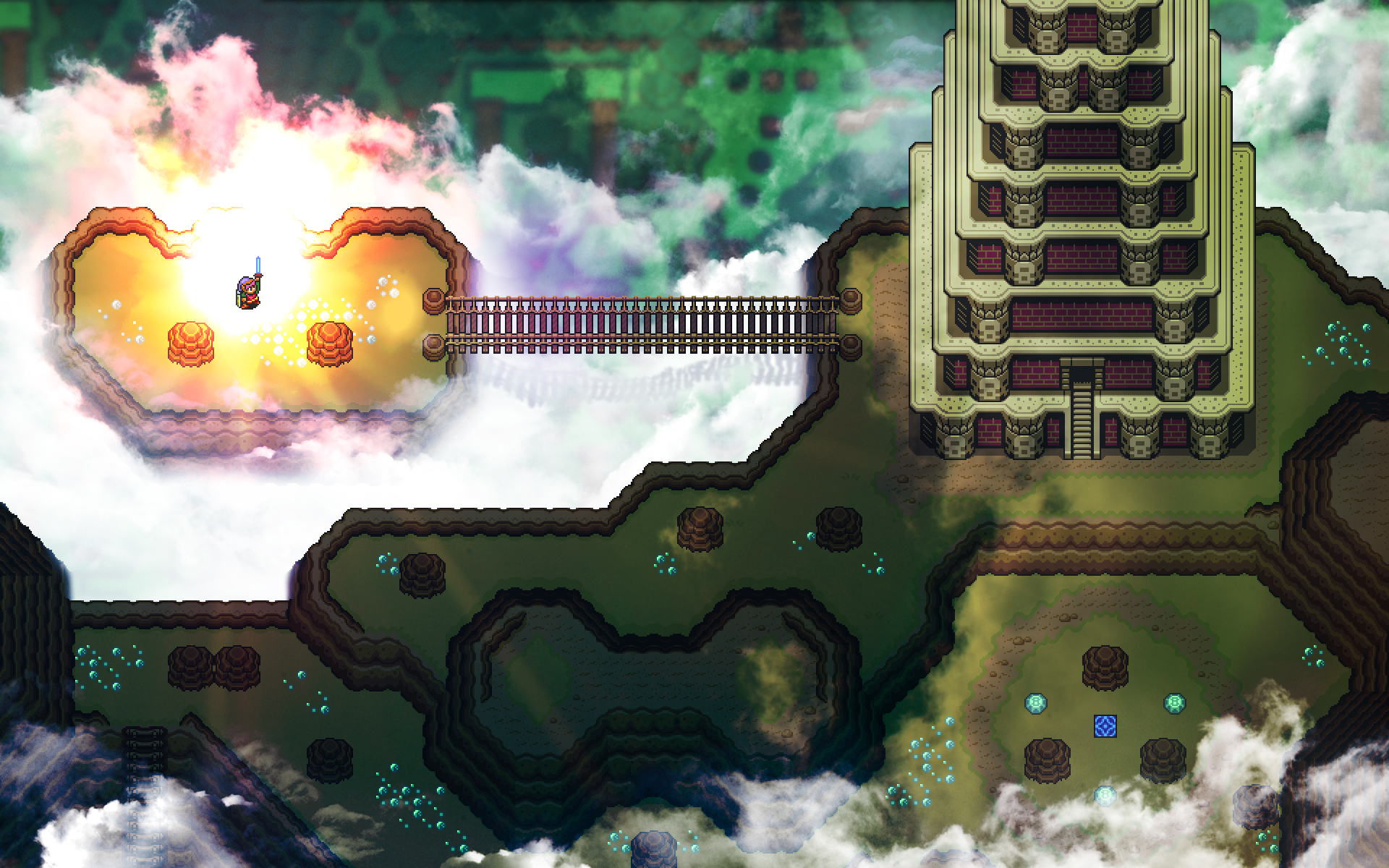 The Legend Of Zelda A Link To The Past Hd Wallpaper Background